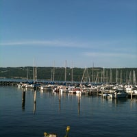 Photo taken at Seneca Harbor Station by Stephen H. on 6/15/2012