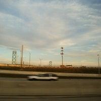Photo taken at I-75 & Ambassador Bridge by Tonnisha E. on 3/14/2012