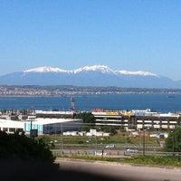 Photo taken at Planetarium Barestau by Dionisis K. on 4/22/2012