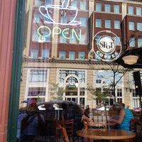 Photo taken at Spot Coffee Delaware Cafe by Victor R. on 9/1/2012