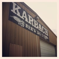 Photo taken at Karbach Brewing Co. by David M. on 6/8/2012