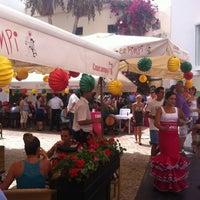 Foto tomada en El Pimpi por Borja R. el 8/18/2012