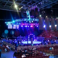 Photo taken at Mohegan Sun Arena by Lizette R. on 3/30/2012