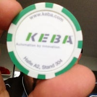 Снимок сделан в KEBA пользователем Hans-Peter K. 6/6/2012