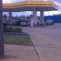 Photo taken at Shell by Dwayne A. on 5/9/2012