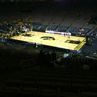 Photo taken at Carver-Hawkeye Arena by Matt J. on 2/24/2012