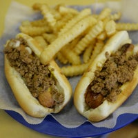 Photo taken at Dick's Hot Dog Stand by The News & Observer on 7/10/2012