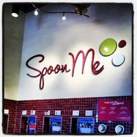 Photo taken at Spoon Me Frozen Yogurt and Juices by Cody T. on 8/3/2012