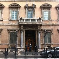 Photo taken at Palazzo Madama by Antonio D. on 4/20/2012