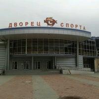 Photo taken at Дворец Игровых Видов Спорта УГМК by Ivan S. on 7/31/2012