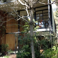 Photo taken at The Eames House (Case Study House #8) by Teresa L. on 3/2/2012