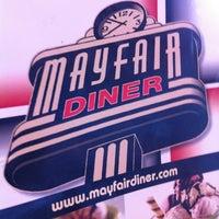 Photo taken at Mayfair Diner by John F. on 6/10/2012