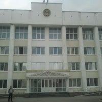 Photo taken at Администрация Советского района г. Уфы by Стас С. on 4/19/2012
