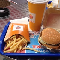 Photo taken at Burger King by Cevat İ. on 8/12/2012