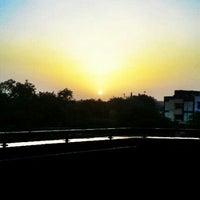 Photo taken at Tughlaqabad Metro Station by Nitish K. on 5/28/2012