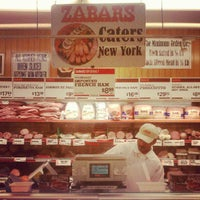 Photo taken at Zabar's by Taylor on 5/19/2012