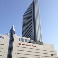 Photo taken at ANA Crowne Plaza Kobe by Hisanobu K. on 4/23/2012