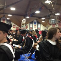 Photo taken at Clark University -  Kneller Athletic Center by Katie S. on 5/20/2012