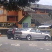 Photo taken at Sekolah Kebangsaan Serdang by Williee W. on 3/3/2012