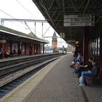 Photo taken at Deansgate Railway Station (DGT) by Sigis V. on 8/31/2012