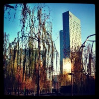 Photo taken at Parc del Centre del Poblenou by Gabriel C. on 3/25/2012