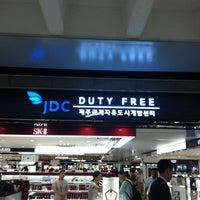 Photo taken at JDC Duty Free by Hongkyu P. on 8/30/2012