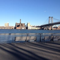 Photo taken at East River Park by Laura B. on 4/6/2012