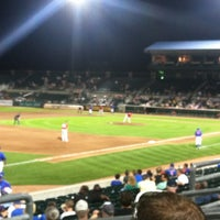 Photo taken at Principal Park by Kiley M. on 8/23/2012
