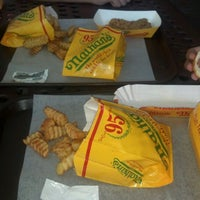 Photo taken at Nathan's Famous Hot Dogs by Matthew K. on 6/26/2012