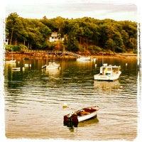 Photo taken at Great Diamond Island Dock by Kateryna on 7/26/2012