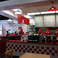 Photo taken at Five Guys by Jungwook L. on 4/14/2012