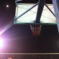 Photo taken at Jianwai SOHO Basketball Court by Hugh X. on 5/3/2012
