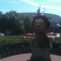 Photo taken at Stephanie Tubbs Jones Transit Center by Moggy P. on 7/29/2012