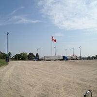Photo taken at Husky Truck Stop by Wayne L. on 5/29/2012