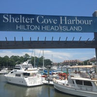 Photo taken at Shelter Cove Harbour by Jean-Yves M. on 7/18/2012