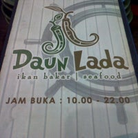 Photo taken at Daun Lada by Rakhma L. on 8/13/2012