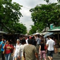 Photo taken at Chatuchak Weekend Market by Fern K. on 3/4/2012