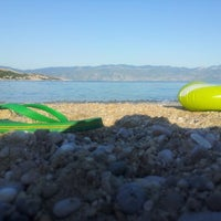 Photo taken at Baška Beach by Madgus V. on 7/17/2012