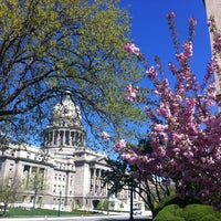 Photo taken at Idaho State Capitol by stanton C. on 4/29/2012