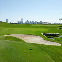Photo taken at Liberty National Golf Course by Khee L. on 5/20/2012