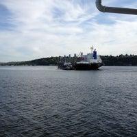 Photo taken at Vashon Ferry by david g. on 5/8/2012