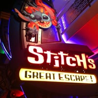 Photo taken at Stitch's Great Escape! by Gerald H. on 3/30/2012