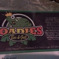 Photo taken at Toadies Bar and Grill by Corey D. on 7/11/2012