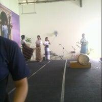 Photo taken at Gereja Toraja Bintaro by Laura on 5/17/2012