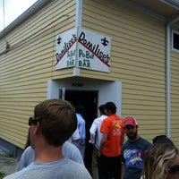 Photo taken at Domilise's Po-Boys by Matt H. on 6/8/2012