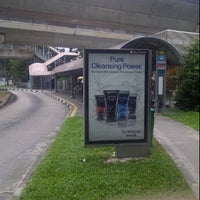 Photo taken at Bus Stop 81089 (Aljunied MRT Station) by Danny S. on 4/14/2012
