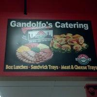 Photo taken at Gandolfo's New York Deli by Tommy on 2/15/2012