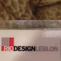Photo taken at Rio Design Leblon by Taissa S. on 3/26/2012