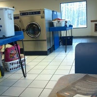 Photo taken at Lost Sock Laundromat by Jessica S. on 3/4/2012