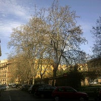 Photo taken at Piazza Dante by Massimo B. on 3/22/2012